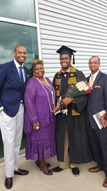 Family - Terrance's Graduation